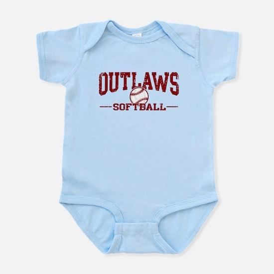 Outlaws Softball Infant Bodysuit