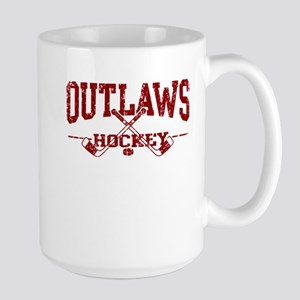Outlaws Hockey Large Mug