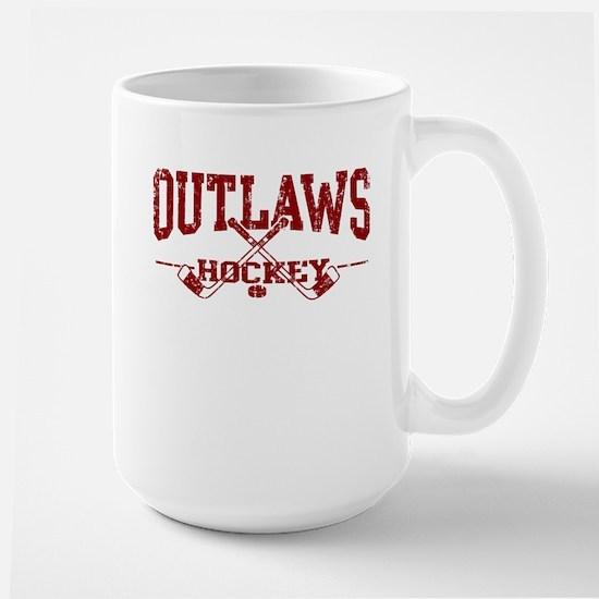 Outlaws Hockey Large Mug