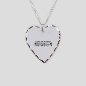 Brazilian Jiu-Jitsu design Necklace Heart Charm
