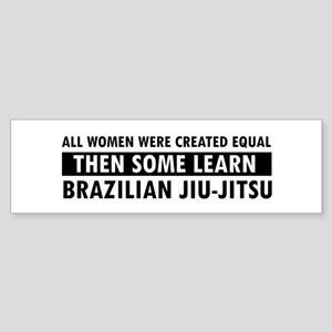 Brazilian Jiu-Jitsu design Sticker (Bumper)