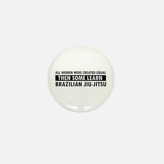 Brazilian Jiu-Jitsu design Mini Button