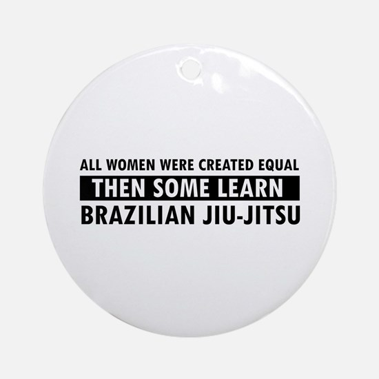 Brazilian Jiu-Jitsu design Ornament (Round)