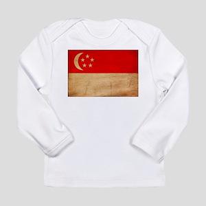 Singapore Flag Long Sleeve Infant T-Shirt