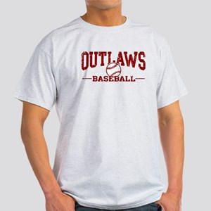 Outlaws Baseball Light T-Shirt