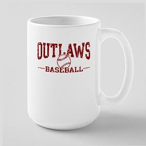 Outlaws Baseball Large Mug