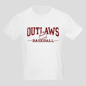 Outlaws Baseball Kids Light T-Shirt