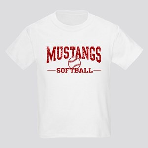 Mustangs Softball Kids Light T-Shirt