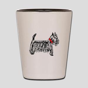 Scottish Terrier | Scottie Shot Glass