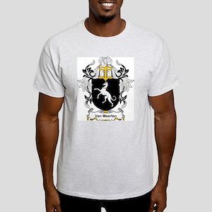 Van Meerten Coat of Arms Ash Grey T-Shirt