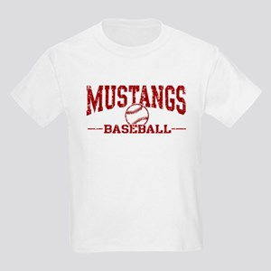 Mustangs Baseball Kids Light T-Shirt