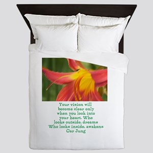 Carl Jung quote Queen Duvet
