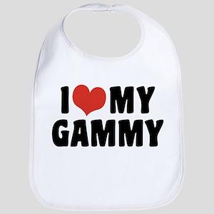 I Love My Gammy Cotton Baby Bib