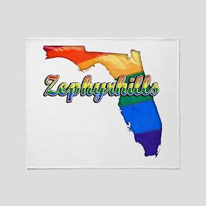 Zephyrhills, Florida, Gay Pride, Throw Blanket