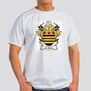 Van Maren Coat of Arms Ash Grey T-Shirt