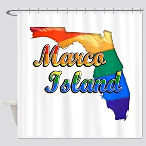 Marco Island, Florida, Gay Pride, Shower Curtain