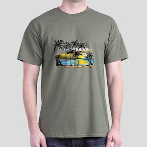 Beautiful Beach Dark T-Shirt
