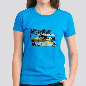Beautiful Beach Women's Dark T-Shirt