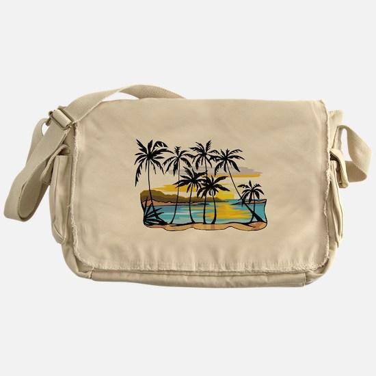 Beautiful Beach Messenger Bag