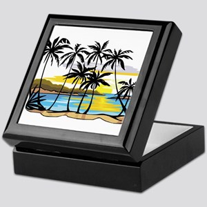 Beautiful Beach Keepsake Box
