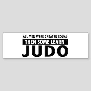 Judo design Sticker (Bumper)