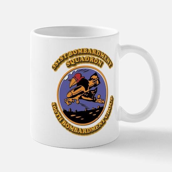 Army - Air - Corps - 351st BS - 100th BG Mug