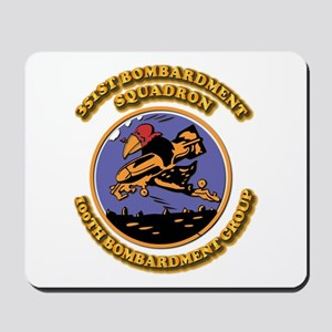Army - Air - Corps - 351st BS - 100th BG Mousepad