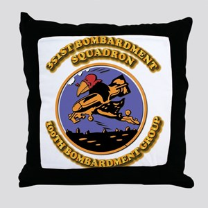 Army - Air - Corps - 351st BS - 100th BG Throw Pil