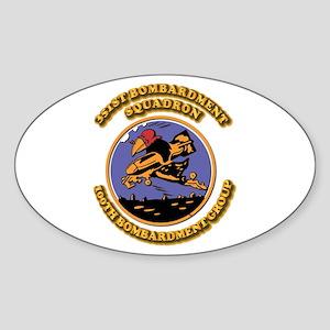 Army - Air - Corps - 351st BS - 100th BG Sticker (