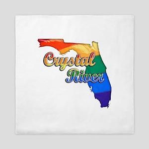 Crystal River, Florida, Gay Pride, Queen Duvet
