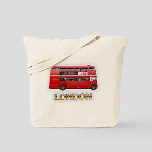 Red Bus Tote Bag