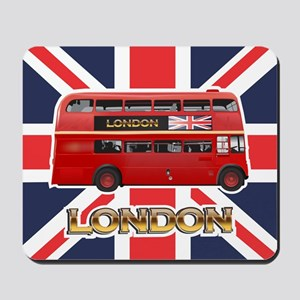 Red Bus Mousepad