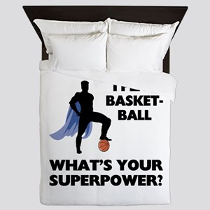 Basketball Superhero Queen Duvet