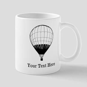 Hot Air Balloon and Text. Mug