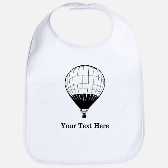 Hot Air Balloon and Text. Bib
