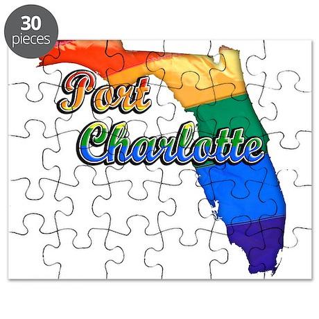 Port Charlotte, Florida, Gay Pride, Puzzle