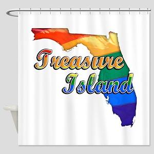 Treasure Island, Florida, Gay Pride, Shower Curtai