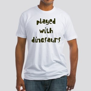 PLAYED DINOSAURS Fitted T-Shirt
