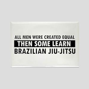 Brazilian Jiu-Jitsu design Rectangle Magnet
