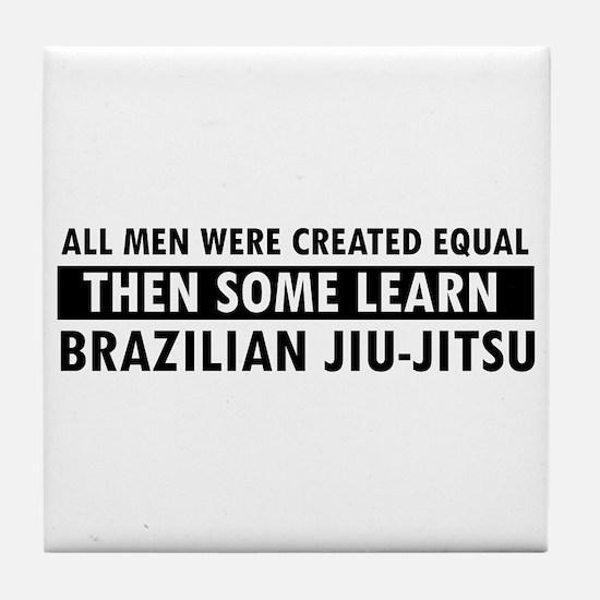 Brazilian Jiu-Jitsu design Tile Coaster