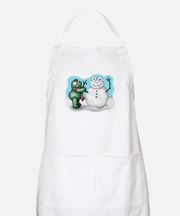 Winter Ferdy BBQ Apron