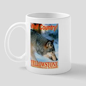 Wolf Country YNP Mug