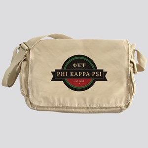 Phi Kappa Psi Fraternity Letters and Messenger Bag