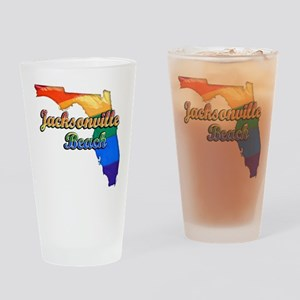Jacksonville Beach, Florida, Pride, Drinking Glass