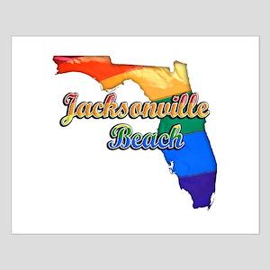 Jacksonville Beach, Florida, Pride, Small Poster