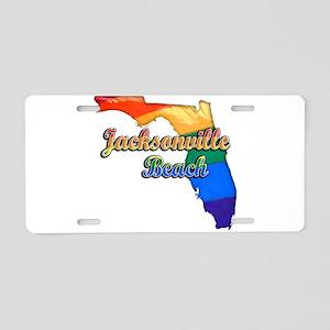 Jacksonville Beach, Florida, Pride, Aluminum Licen