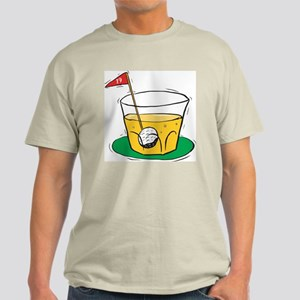 19th Hole Ash Grey T-Shirt