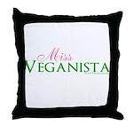 Veganista Throw Pillow