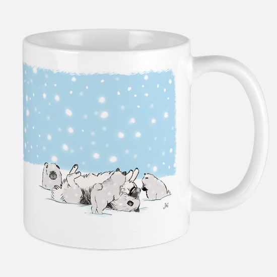 Keesie Snow Dogs Mug