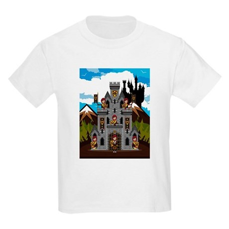 Medieval Knights & Castle Kids Light T-Shirt